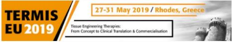 TERMIS European Chapter Meeting 2019  27th-31st May 2019